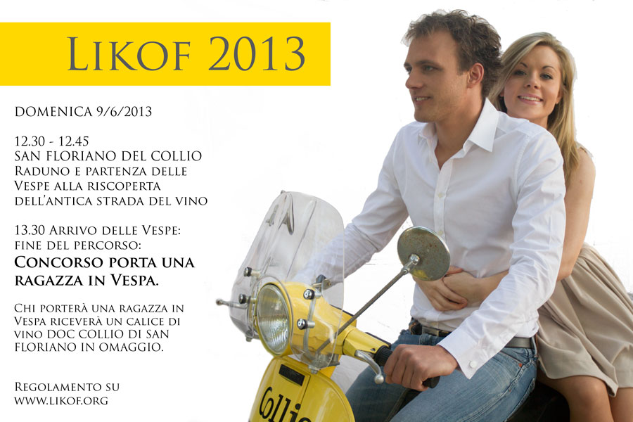 Vespa concorso Collio Likof